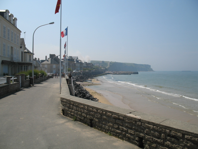 One of the D-Day landing beaches in Normandy