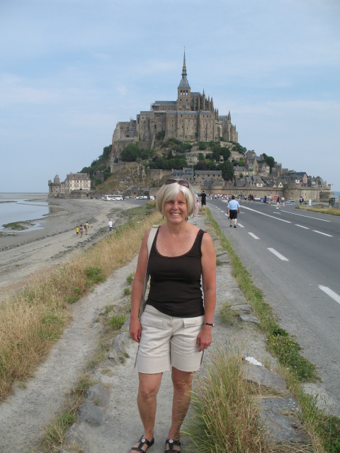 me at Mont Saint-Michel
