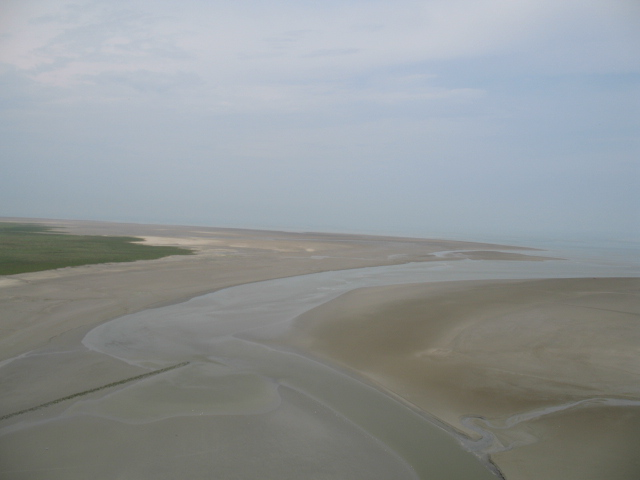 the bay at Mont Saint-Michel