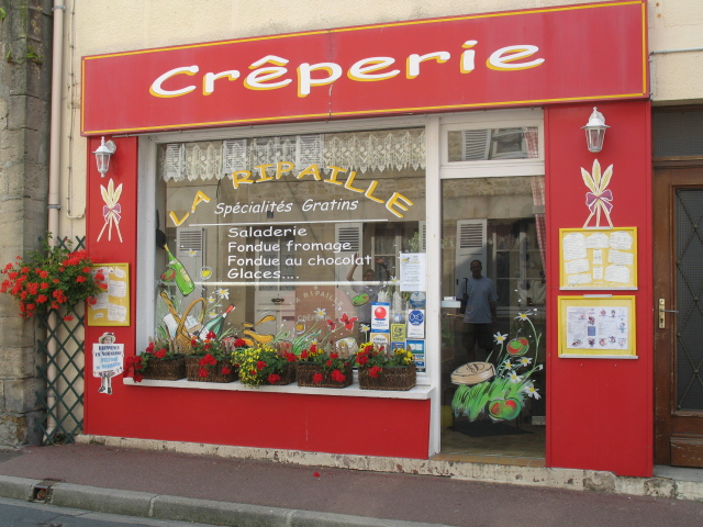 Creperie in Bayeaux