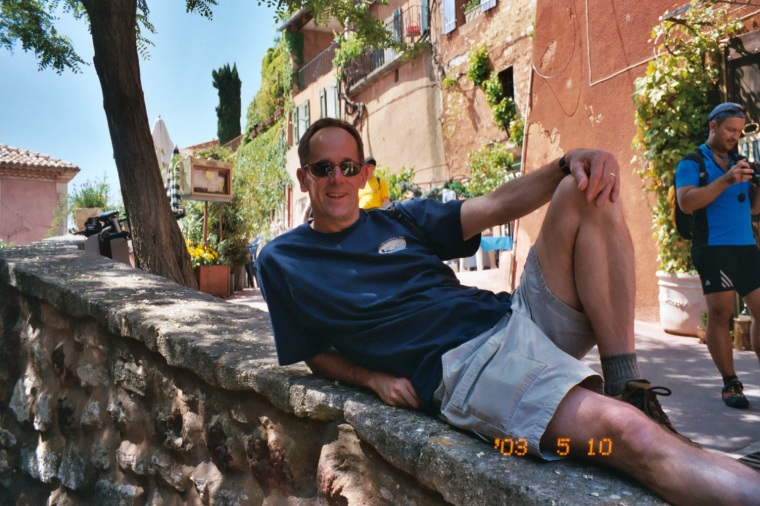 Mike in Roussillon