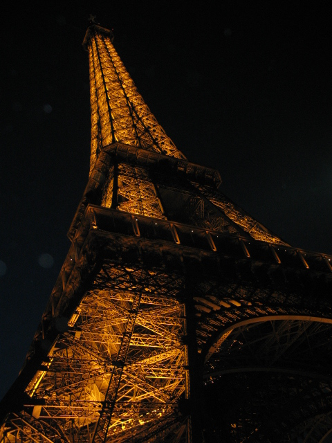 The fabulous Eiffel Tower