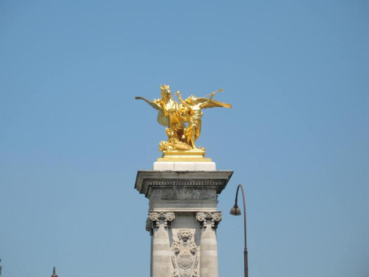 Parisian statues
