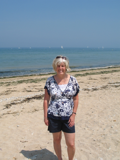 me in Normandy