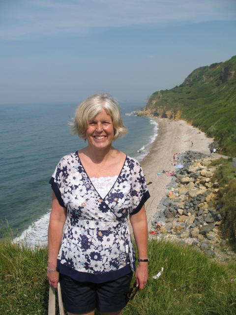 me and Normandy beaches