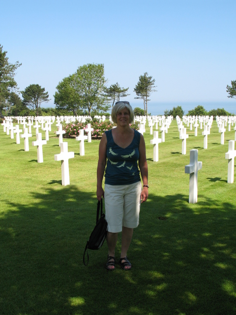 me at thethe Normandy American Cemetery and Memorial