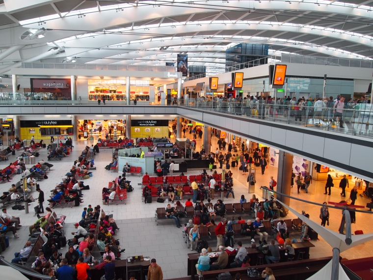 Terminal 5 at Heathrow