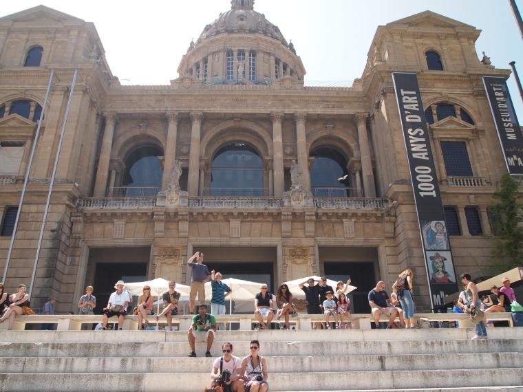 the Museu Nacional D'Art de Catalunya