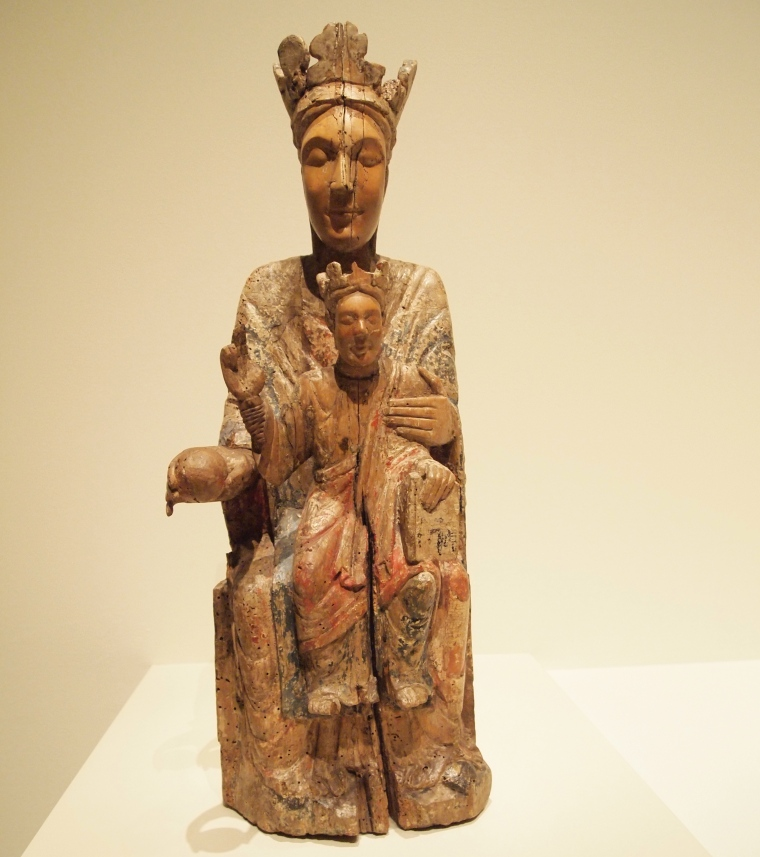 Mary and Jesus: Romanesque