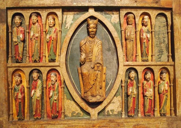 Romanesque frontal altar