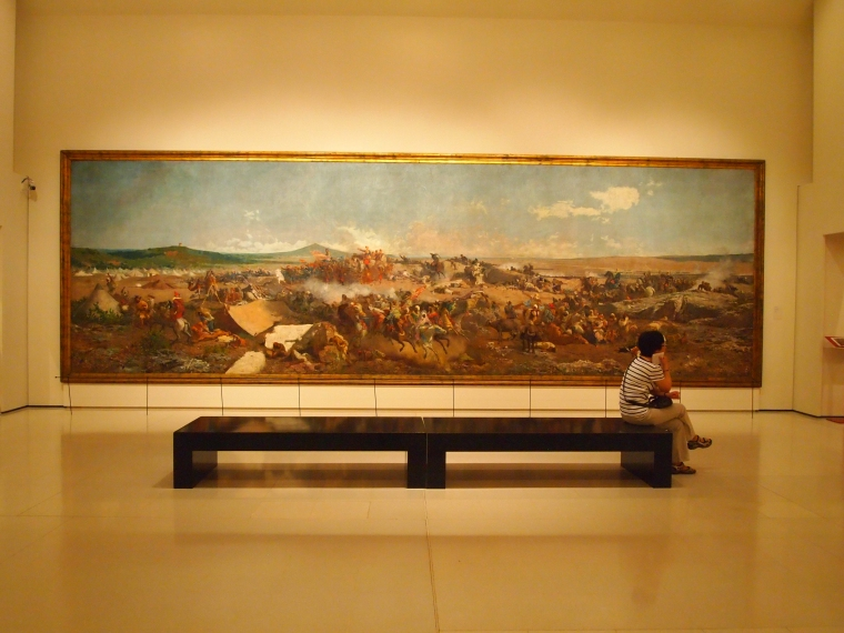 "Fortuny's ""The Battle of Tetuan"""
