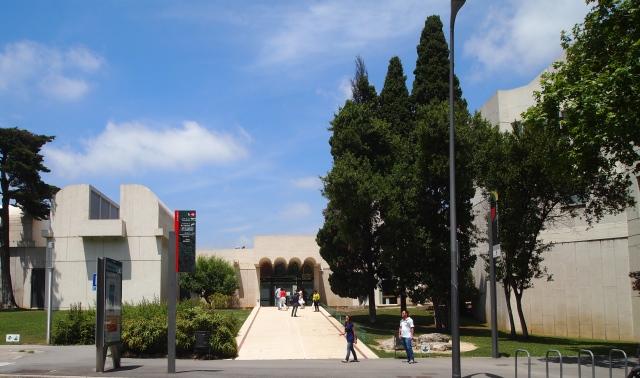 montjuïc: fundació joan miró, teleferic de montjuïc & castell de montjuïc