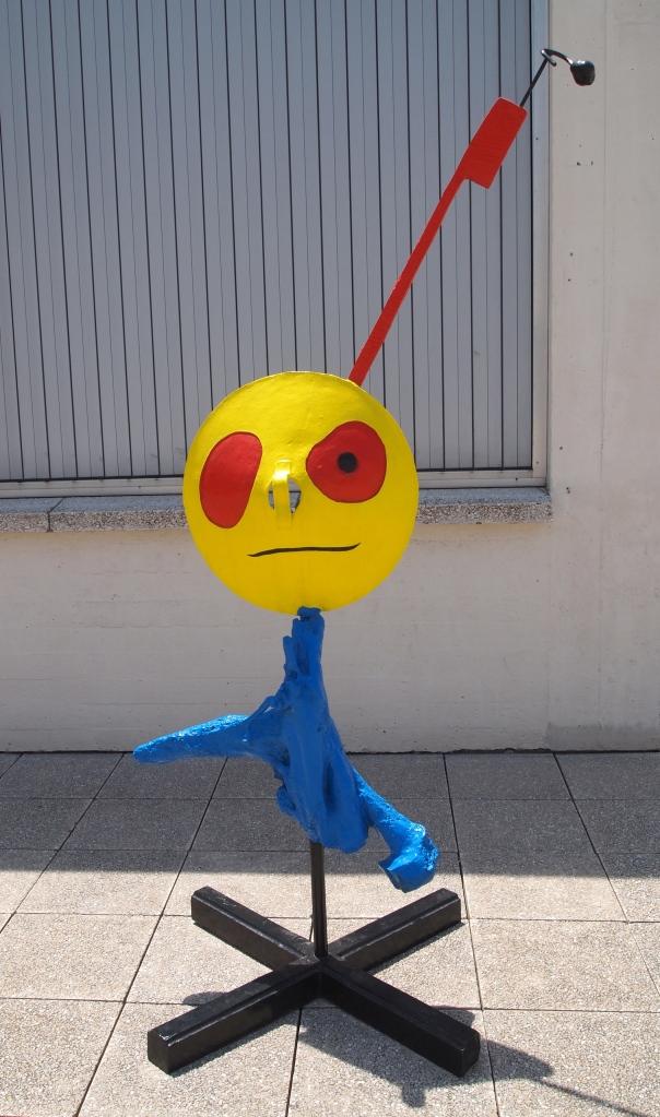 Sculptures at Fundació Joan Miró