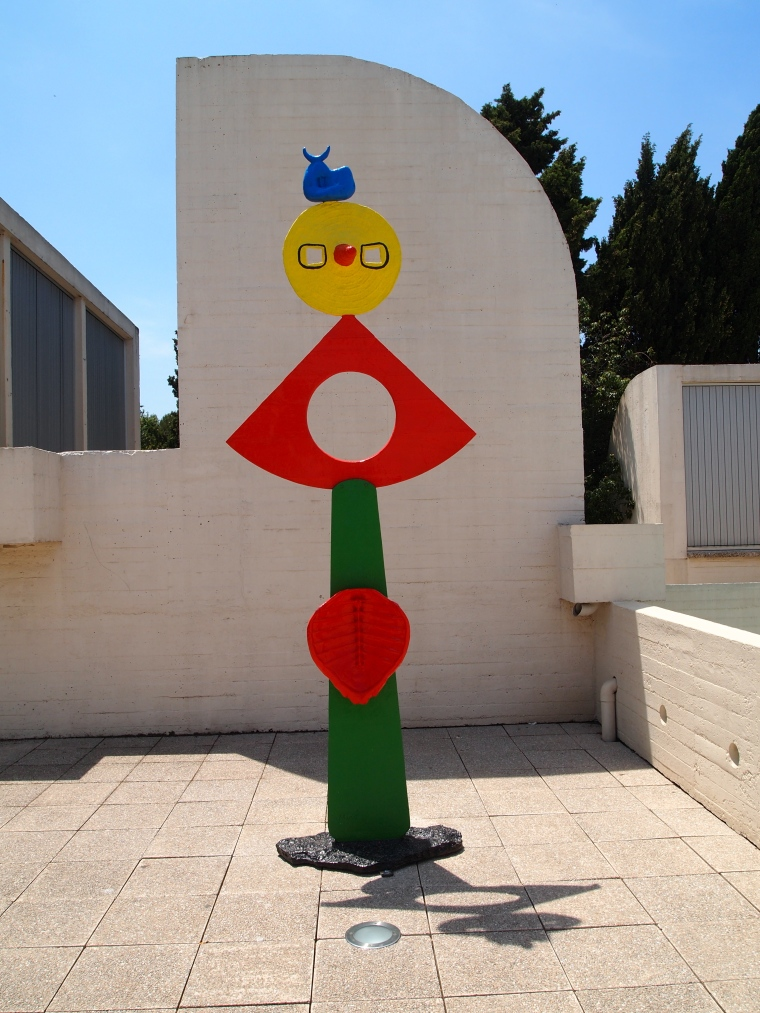 Miró sculpture