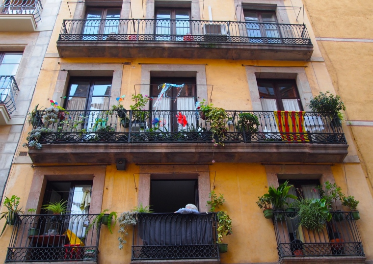 Balconies in La Ribera