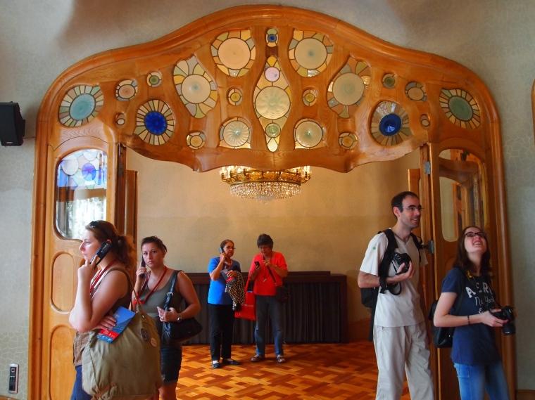 wavy door panels