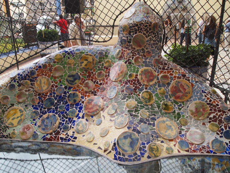 wavy mosaics
