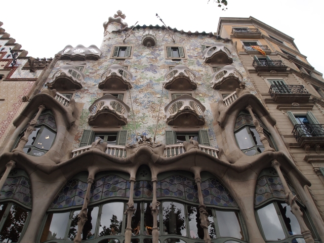 meeting antoni gaudí: casa batlló
