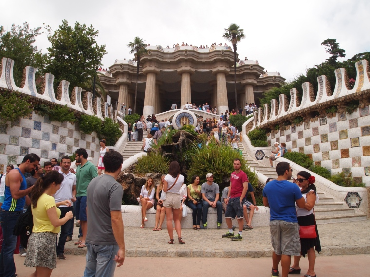 Entrance to Park Güell
