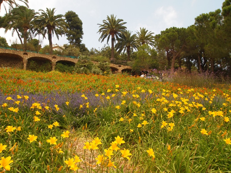 gardens at Park Güell