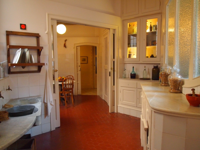 Kitchen at La Pedrera