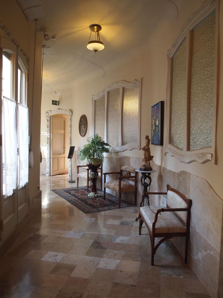 Hallway at La Pedrera