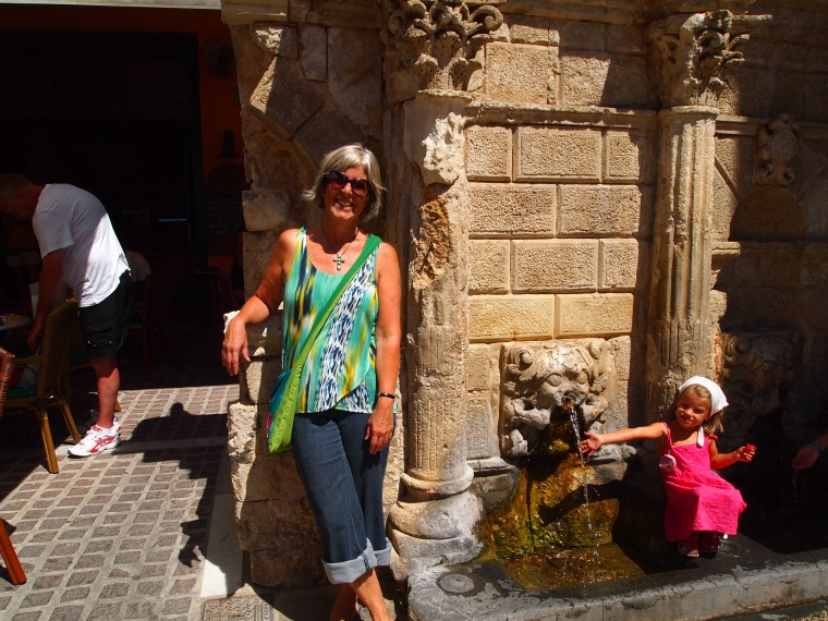 me in Rethymno, Crete, Greece, September 2012