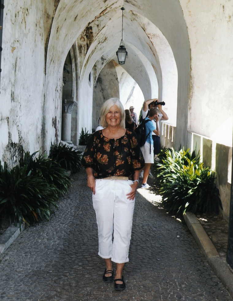 me at Pena National Palace