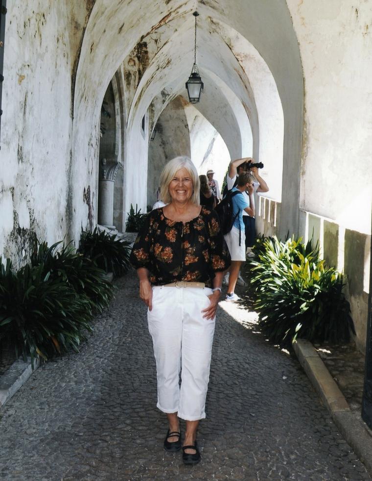 me at Pena National Palace