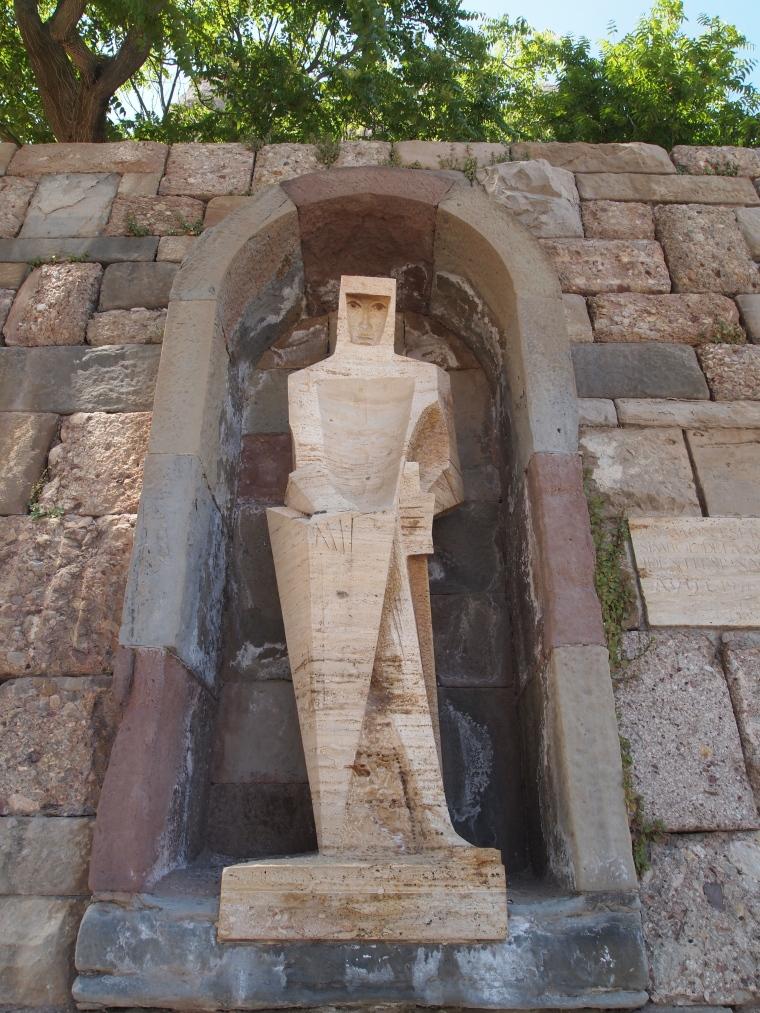 statues in a niche