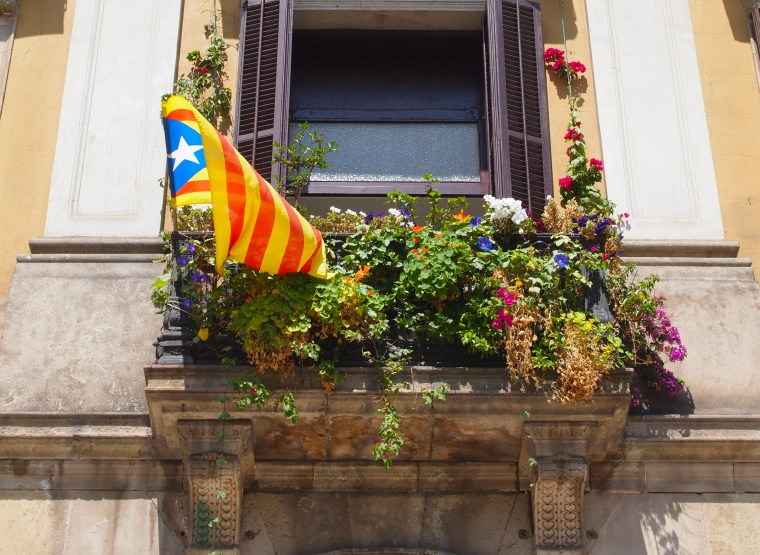 balcony at Placa Reial