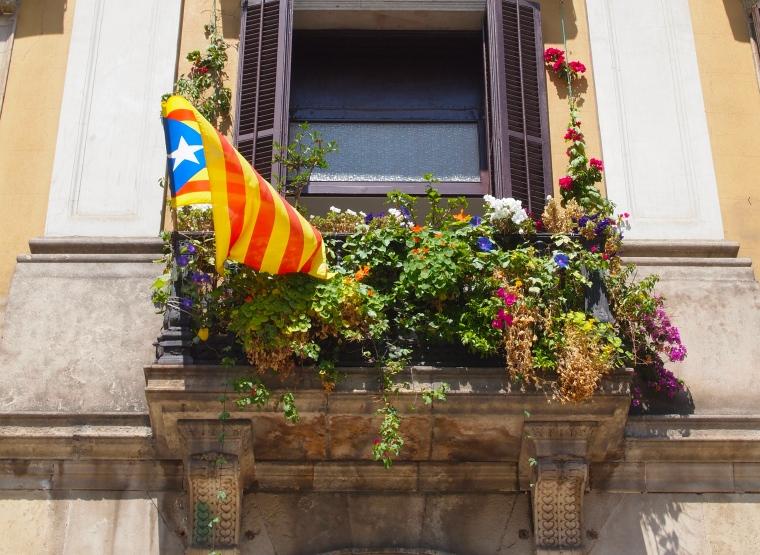balcony at Placa Reial