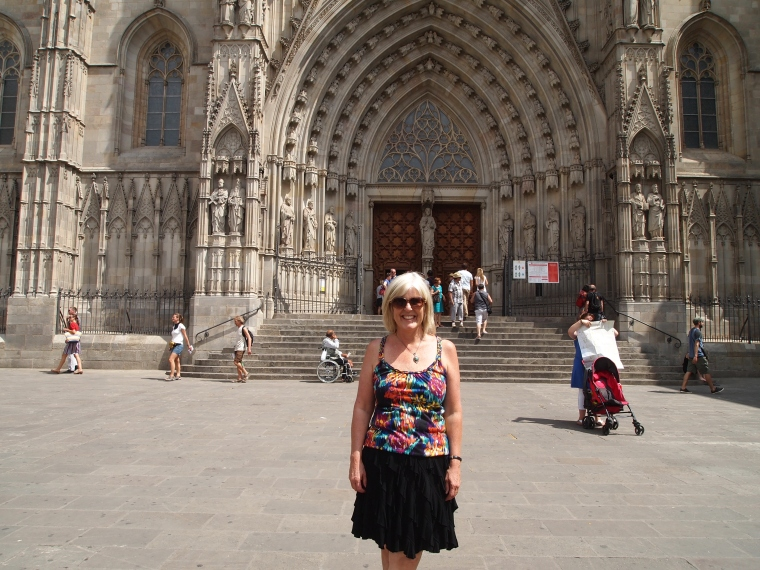 me at Barcelona Catedral