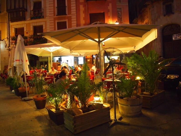 parting shot of Restaurant Alcazar