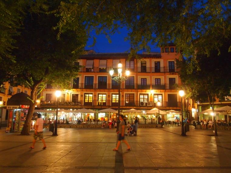 Zocodover Square in Toledo