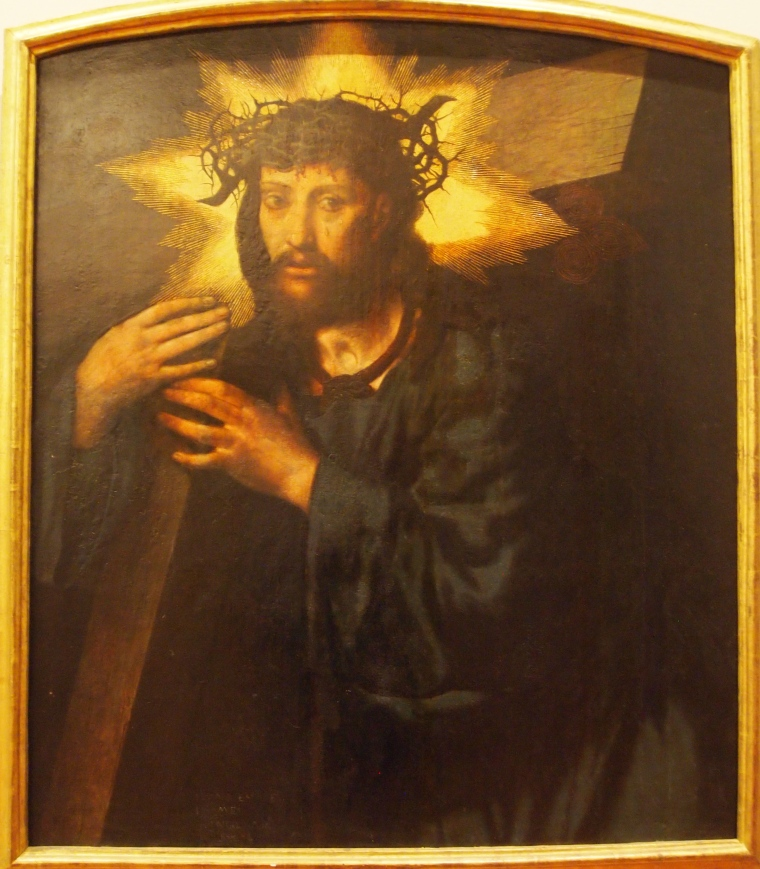Christ in Museo de Santa Cruz