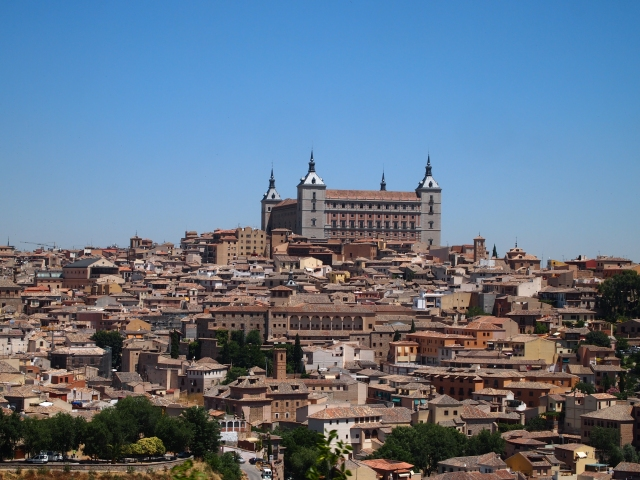 the alcázar & the toledo city tour