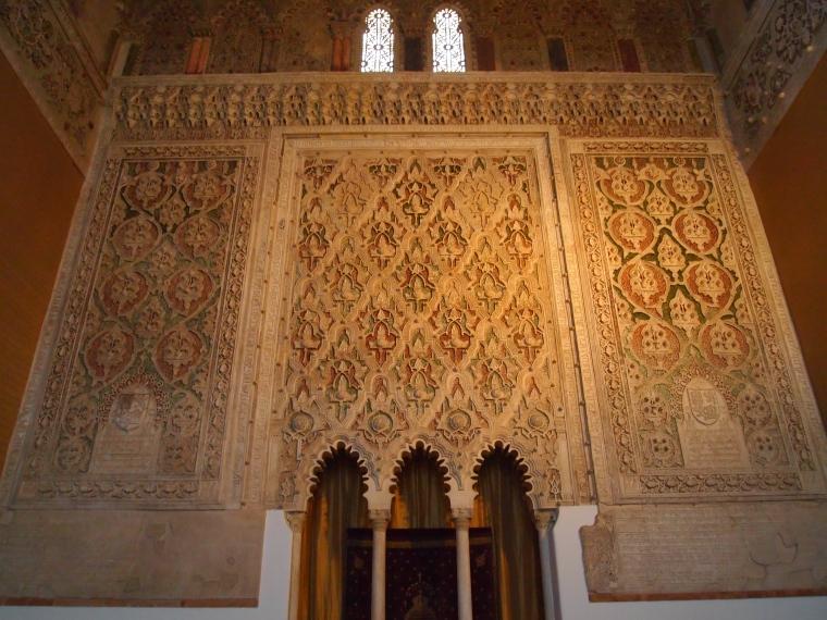 inside Sinagoga del Transito