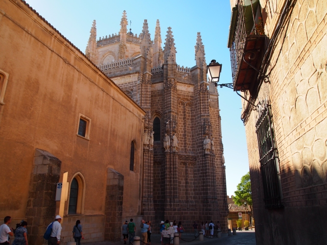 the monastery of san juan de los reyes & the streets of toledo