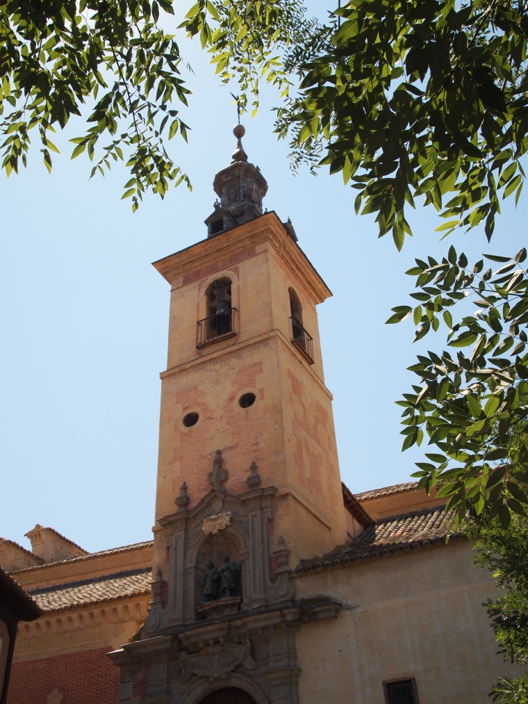 random bell tower on the streets of Toledo