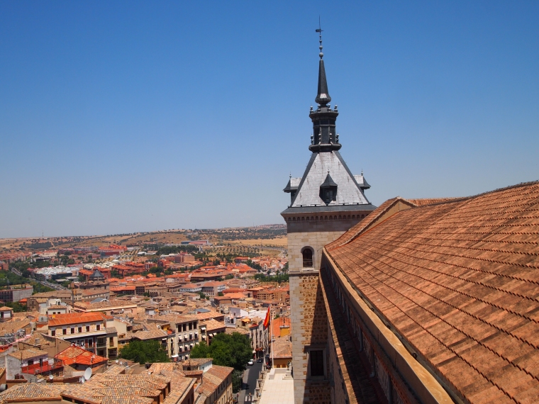 view from the library tower / cafeteria at the alcazar