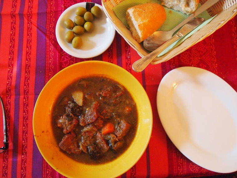 Tagine and olives