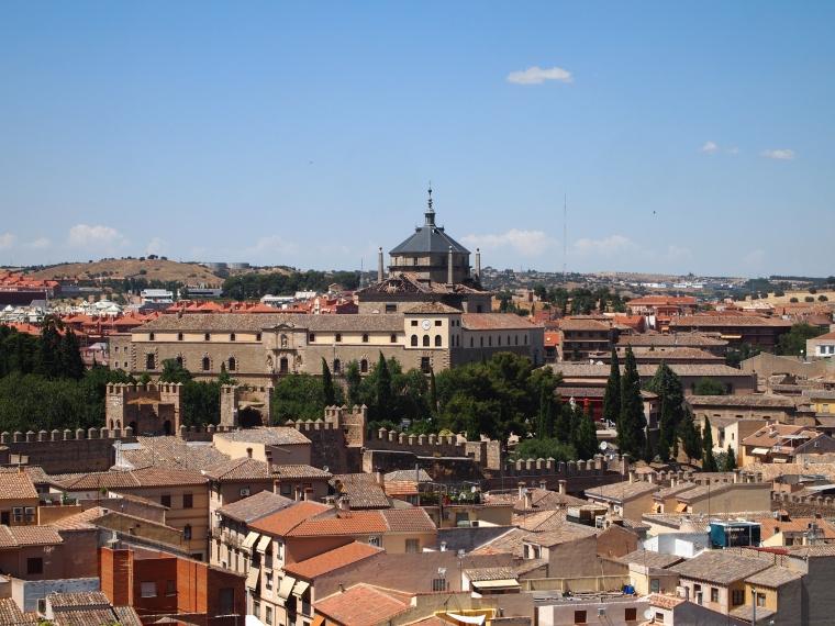 view of Toledo from Cristo de la Luz Mezquita
