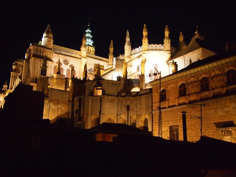 Catedral de Toledo at night