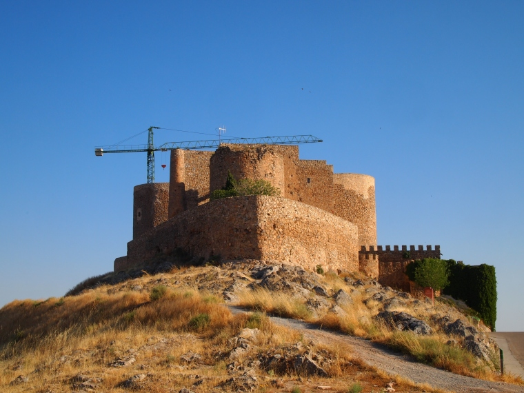 the castle at Consuegra