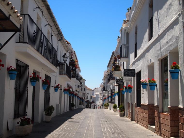 streets of Mijas
