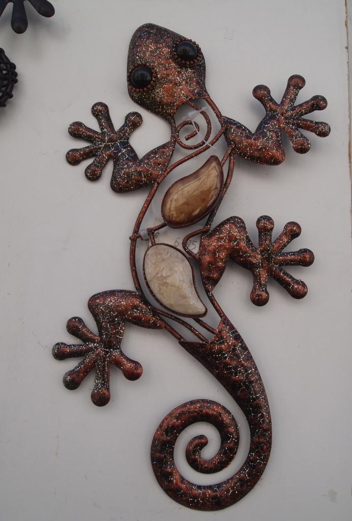 Gecko wall art
