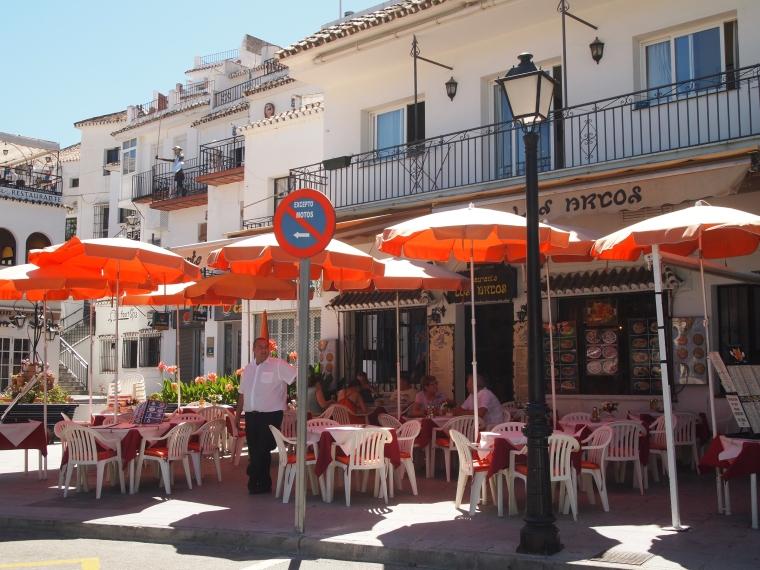 cafe in Mijas