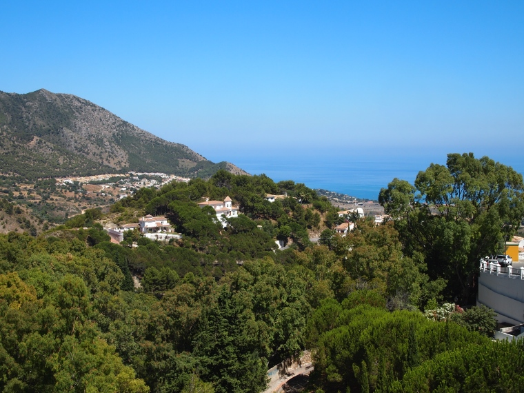 view from Mijas to the Mediterranean