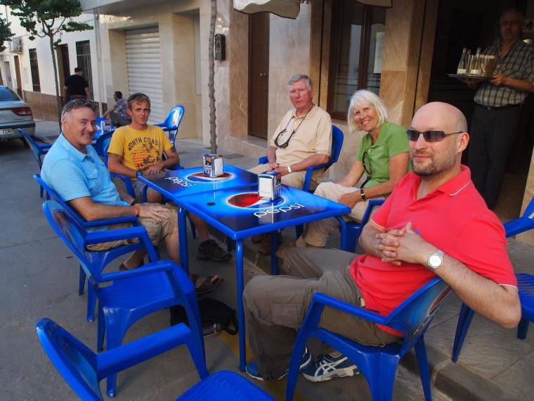 Gary, Paul, Barry, Carol and Mark